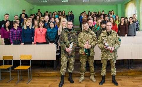 зустріч з військовими з АТО